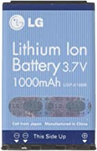 LG Oem Lithium Ion Battery 1000 mAH 3.7V, Compatible With LG VI-125, PM225, LX225, PM325, VX3200, VX3300, VX4650, VX4700, AX4750, UX4750, T5100, AX5000, UX5000, VX5200, MM535, VX6100, VX8100, VX8300, VX8100, VX6100, VX5300, VX5200, VX4700, VX4650, VX3450, VX3400, VX3300, VX3200, VX1000, UX5000, UX4750, AX355, AX390, AX490, AX3200, AX4270, AX4750, AX5000, LX325, LX535, MM535, Cell Phones