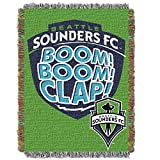 MLS Seattle Sounders FC Handmade Woven Tapestry Throw, 48' x 60'