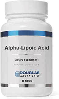 Douglas Laboratories - Alpha-Lipoic Acid - Supports Metabolic and Antioxidant Functions - 60 Tablets