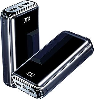 Bärbar laddare Power Bank 100.000MAH, Nöd Portabel Externt batteri med 3 utgång, LCD-skärm, QC3.0 & 22.5W PD-typ-C Snabb L...
