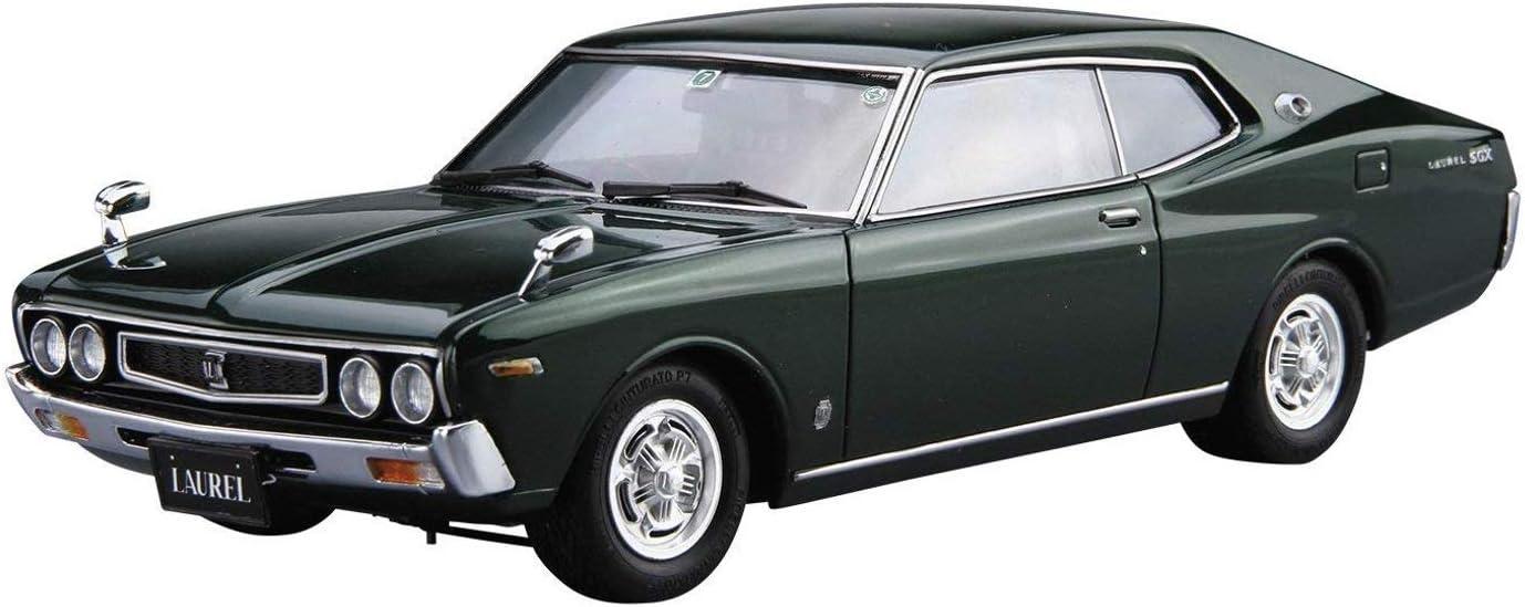 通信販売 Aoshima 1 24 オーバーのアイテム取扱☆ Scale No.14 KHC130 2000SGX '75 Laurel HT Model Kit