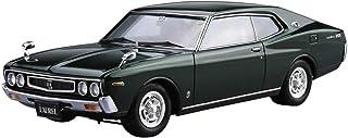 青島文化教材社 1/24 ザ・モデルカーシリーズ ニッサン KHC130 ローレル HT2000SGX 1975年 プラモデル No.14