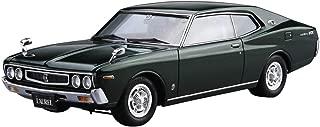 Aoshima 1/24 Model Car No.14 Nissan KHC130 Laurel HT 2000SGX '75 Model Kit(Japan Import)