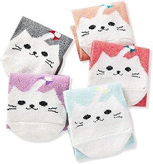 5 pares de calcetines de invierno para mujer, de lana, calcetines de regalo suaves, divertidos, térmicos, para mujer