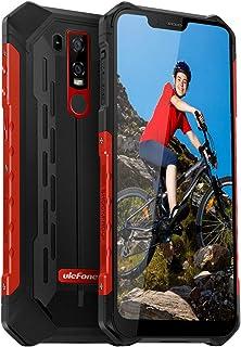 "Ulefone Armor 6E Rugged Phones Unlocked, 4G Unlocked Cell Phones Rugged Dual Sim 4G 6.2"" FHD Android 9.0 Helio P70,4GB+64G..."