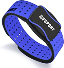 IGPSPORT Heart Rate Monitor Armband Optical HR60 Sensor with ANT+ and Bluetooth - Blue