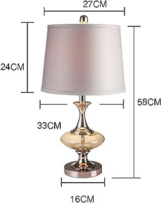 Luz de Lectura Ideal- Lámpara de Mesa de Vidrio Creativo ...