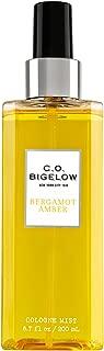 C.O. Bigelow Bergamot Amber Cologne Spray 6.7 Oz.