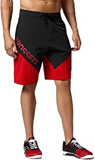 Reebok Men's Crossfit Cordura ii Training (Red/Black) Shorts