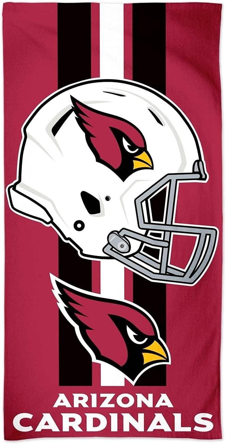 Manufacturer direct delivery WinCraft At the price NFL Arizona Cardinals Fiber Beach Towel 9lb 30 x 60