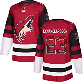 VF LSG Men's Arizona Coyotes #23 OliverEkman-Larsson Red Breakaway Player Jersey