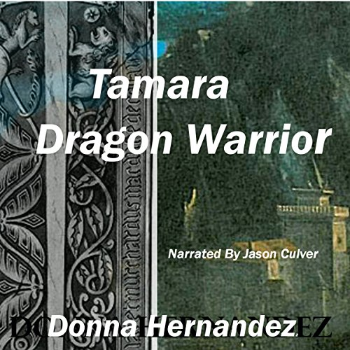 Tamara Dragon Warrior audiobook cover art