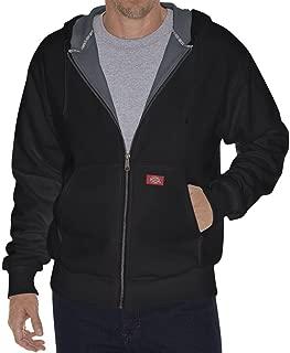 Dickies Big & Tall Men's Thermal-Lined Hooded Fleece Zip Jacket