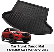 XUKEY for Mazda CX-5 CX5 KE 2012 2013 2014 2015 2016 Boot Mat Rear Trunk Boot Liner Cargo Floor Tray Carpet Mud Pad Kick Guard Cover Protector Decoration Car Accessories