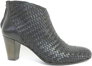 Progetto Lederstiefel, niedriger Absatz: : Schuhe