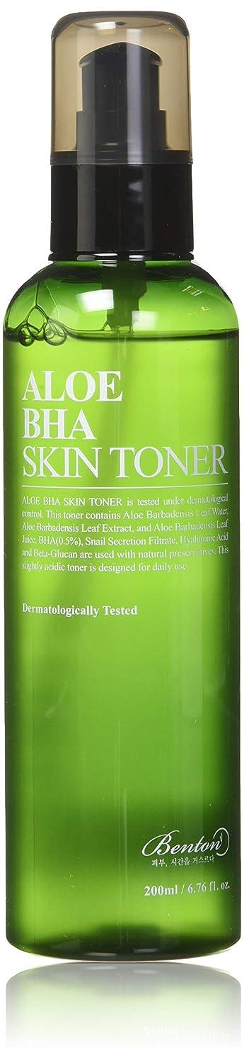 遠征主張受け入れたBENTON Aloe BHA Skin Toner (並行輸入品)