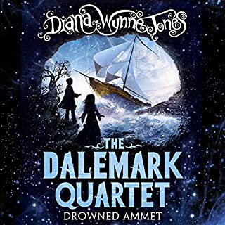 Drowned Ammet     The Dalemark Quartet, Book 2              Written by:                                                                                                                                 Diana Wynne Jones                               Narrated by:                                                                                                                                 Mike Grady                      Length: 8 hrs and 29 mins     1 rating     Overall 4.0