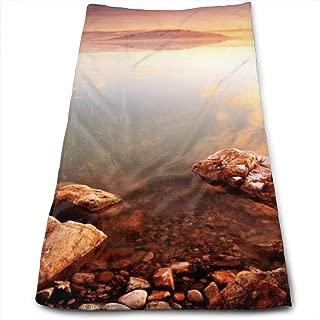 Great Salt Lake View Printed Personality Pattern Soft Microfiber Bath Towel for Bathroom Towel Out Picnic Travel Towel School Bath Towel, Dish Towel, Tablecloth