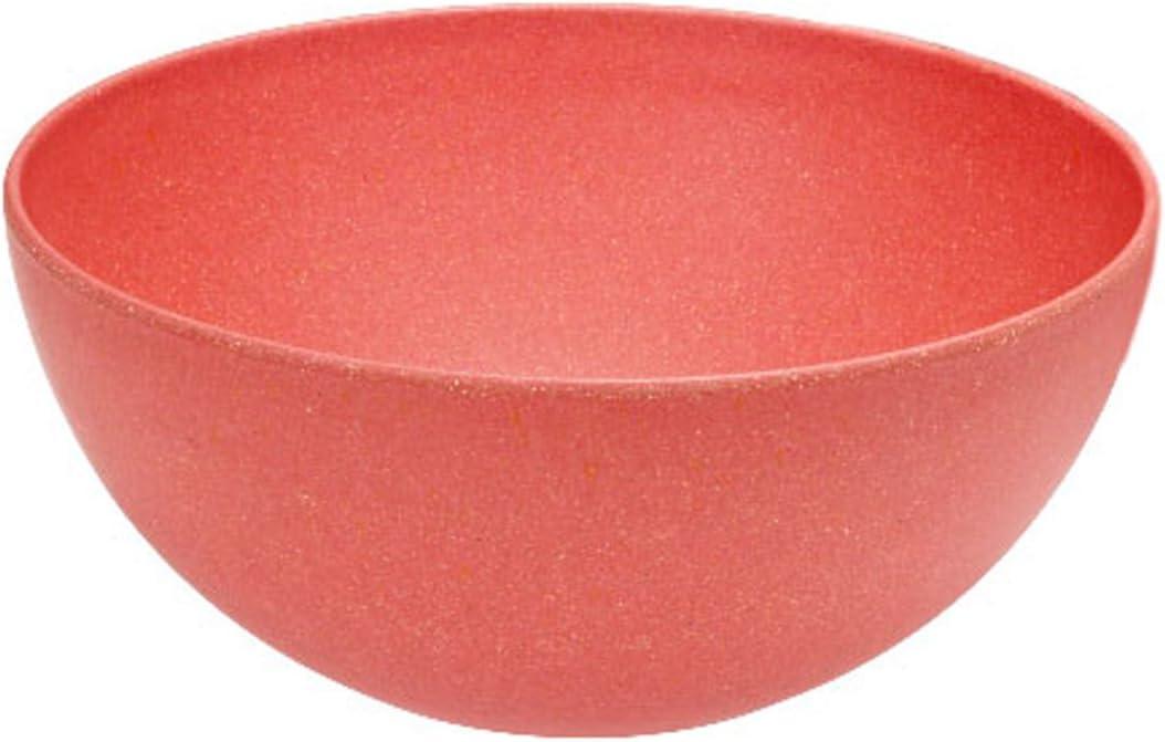 Magu 133 019 Nature design Bol Plastique//Fibres de bambou//F/écule de c/ér/éales//Fibre de bois Rouge 30 x 30 x 10 cm