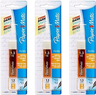 Paper Mate Mates Pencil Lead Refill Pack - 3 Pack