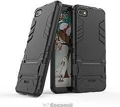 Cocomii Iron Man Armor Xiaomi Redmi 6A Case New [Heavy Duty] Premium Tactical Grip Kickstand Shockproof Bumper [Military Defender] Full Body Dual Layer Rugged Cover for Xiaomi Redmi 6A (I.Jet Black)