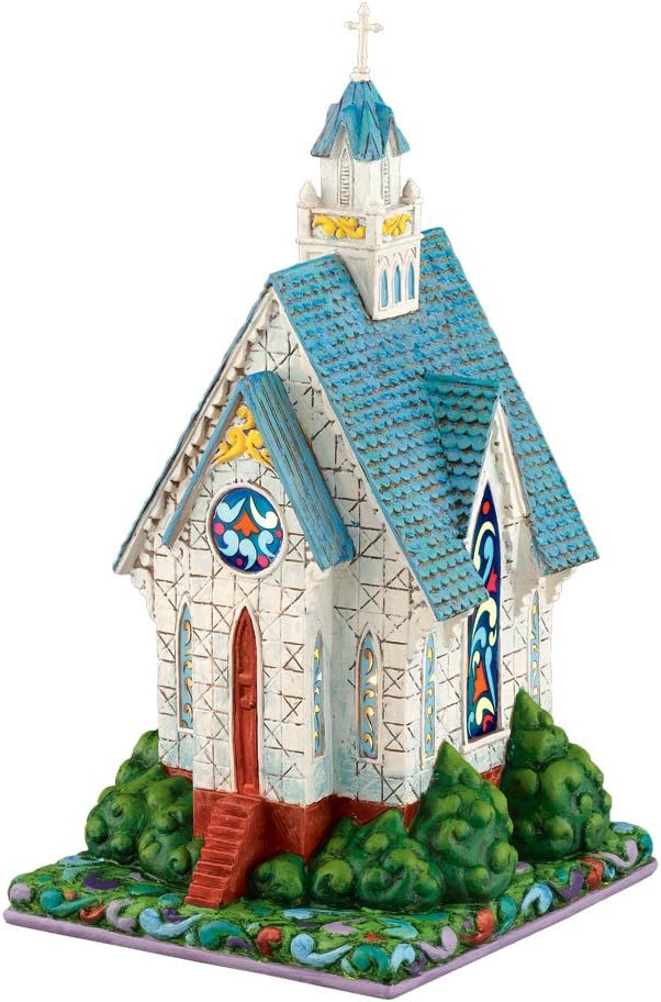 Department 56 Jim 67% OFF of fixed price Tucson Mall Shore Village House Lit Church Heartland