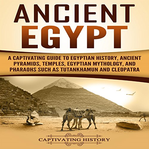 Ancient Egypt audiobook cover art