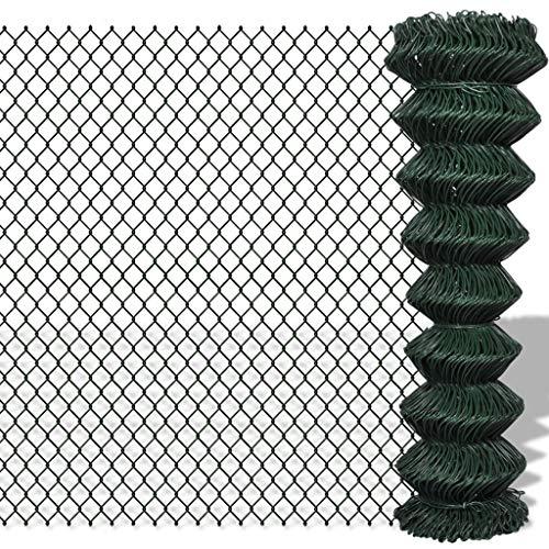 Maschendrahtzaun Zaun Maschendraht Draht Viereckgeflecht Maschinengeflecht 1,5 x 15 m Grün