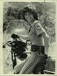 Vintage Photos 1982 Press Photo Tina Gayle in a Scene on Chips, on NBC. - sap12754