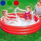 Bestway Planschbecken Embossing Kinder Pool Schwimmbecken Swimmingpool Pool 152x30cm rot