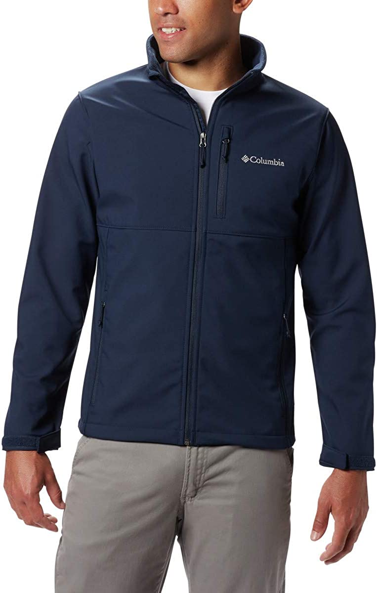 Columbia Men's Ascender Nippon regular agency Softshell Large-scale sale Collegiate Front-Zip N Jacket