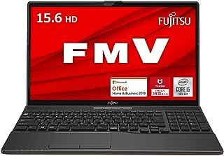 【公式】 富士通 ノートパソコン FMV LIFEBOOK (MS Office 2019/Win 10/15.6型/Core i5-10210U/8GB/SSD 256GB/DVD) AHシリーズ FMVWF1A152_AZ