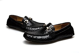 Men's Driving Penny Loafers Suede Driver Moccasins Slip On Flats Casual Dress Boat Shoes