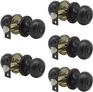 Best bronze interior door knobs Reviews
