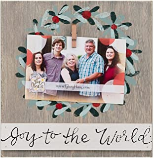 Glory Haus Joy to The World Clip Frame, Multicolor