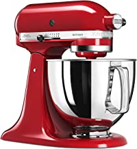 KitchenAid 5KSM125EER Stand Mixer, 5-Qt, Empire Red, 220 Volts (Not for USA - European Cord)