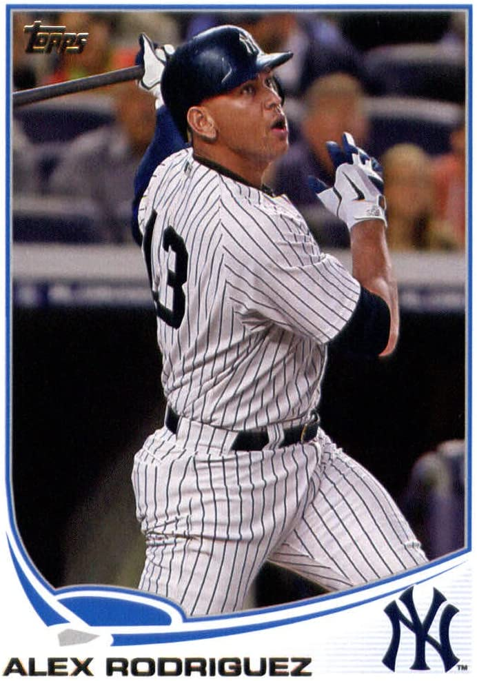 2013 Topps Baseball Card 213 Alex Rodriguez New York Yankees At Amazon S Sports Collectibles Store
