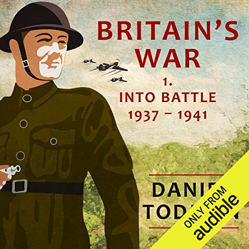 Britain's War audiobook cover art