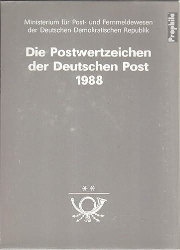 DDR 1988 JahreszusamPour des hommestellung (Timbres pour Les collectionneurs)