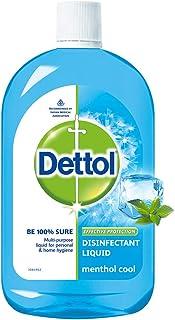 Dettol Liquid Disinfectant for Multi-Purpose Germ Protection, Menthol Cool, 500ml