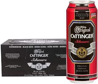 Oettinger Schwarzbier, 24 Cans per Carton - 500ml