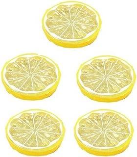 Gelb 10 St/ück K/ünstliche Gelb Zitrone Dekoobst Schaum Obst Deko Gef/älschte Fr/üchte Obst Party Festival Dekoration Fotografie Requisiten VNEIRW