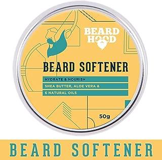 Beardhood Beard Softener For Men - Shea Butter and 6 Natural Oils, 50g