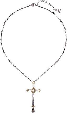 Millennium Cross Pendant Necklace