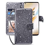 CHICASE Case for Oneplus 8 Pro[NOT for Oneplus 8''],Flip Glitter...
