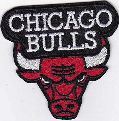 MAREL Patch Chicago Bulls NBA USA 6,5 x 6,5 cm Parche bordado réplica -1052