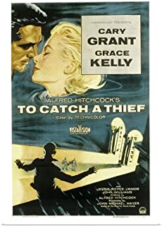 GREATBIGCANVAS Poster Print to Catch A Thief - Movie Poster by 24