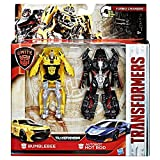 Transformers The Last Knight Autobots Unite - Bumblebee & Autobot Hot Rod 1-Step Turbo Changer