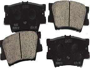 Premium Ceramic Rear Disc Brake Pad Set OEM 04466-06090 04466-33160 For 07-17 Toyota Camry & 08-16 Toyota Avalon & 06-17 Toyota RAV4 & 13-17 Lexus ES300h