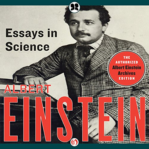 essays in science audiobook by albert einstein  audiblecom essays in science audiobook cover art